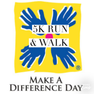 Together We Run : The Make A Difference Day5K & 1 Mile Run/Walk