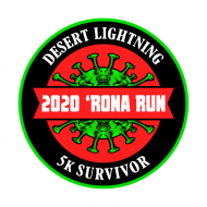 Desert Lightning 2020 'Rona Run - Virtual 5k Walk/Run