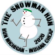 The Snowman Run - Run Michigan/Indiana Cheap