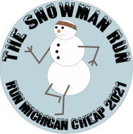 The Snowman Run - Run Michigan Cheap