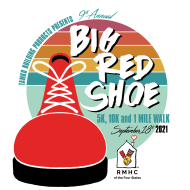 Big Red Shoe 5k, 10k & 1 Mile Walk Presented by TAMKO Building Products