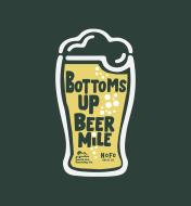 Bottoms Up Beer Mile