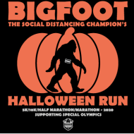 Bigfoot...The Social Distancing Champion's Halloween Hustle