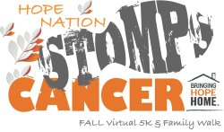 HOPE Nation STOMPS Cancer Fall Virtual 5k & Family Walk