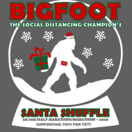 Bigfoot...The Social Distancing Champion's Santa Shuffle
