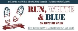 8th DTCC Run, White & Blue 5K Run/1mi Walk