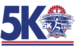 Rotary Honors Veterans Freedom Virtual 5k Run/Walk