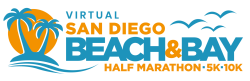 San Diego Beach & Bay Half Marathon 5K/10K (VIRTUAL)
