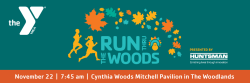 29th Annual YMCA Run Thru the Woods Presented by Huntsman