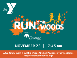 28th Annual YMCA Run Thru the Woods Presented by Entergy
