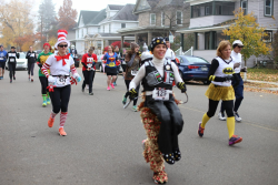Halloween 13k , 2 Person Relay and Zombie Chase
