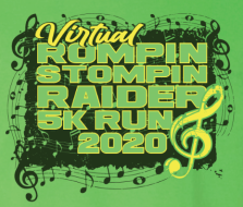 Rompin' Stompin' Raider 5K Run