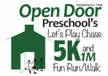 "Open Door Preschool's ""Let's Play Chase"" 5K Fun Run"