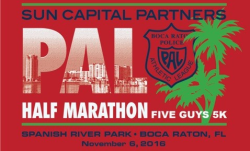 Sun Capital Boca PAL Half Marathon & Five Guys 5K
