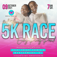 2nd Annual Virtual & In-Person WIT 5K Race to End Poverty. Period!