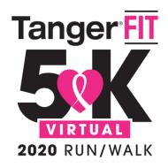 TangerFIT Virtual 5K- Foxwoods