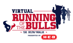 Virtual Running of the Bulls 5K presented by H-E-B