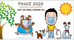 Pawz In Park Virtual Run 2020