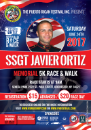 SSGT Javier Ortiz Memorial 5K Race/Walk