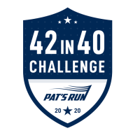 Pat's Run 42 in 40 Challenge