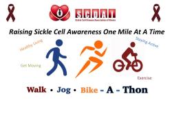 Sickle Cell Disease Association of Illinois (SCDAI) Virtual 46th Annual Walk/Jog/Bike-A-Thon