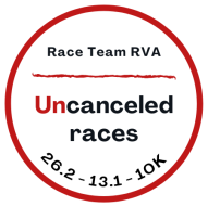 2020 Race Team RVA Uncanceled 26.2 / 13.1 / 10K