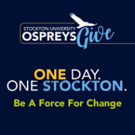 Stockton University Ospreys Give and University Weekend