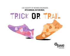 SWE 8th Annual 5K: Trick or Trail