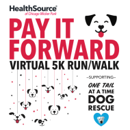 "HealthSource ""Pay It Forward"" Virtual 5K Run/Walk - Supporting One Tail at a Time"