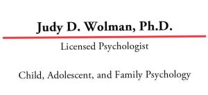 Judy D. Wolman, Ph.D.