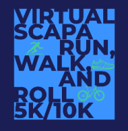 Virtual SCAPA Run, Walk, and Roll 5K/10K