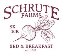 SCHRUTE FARMS BED & BREAKFAST 5K/10K!