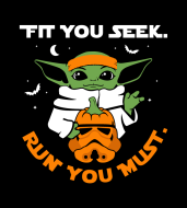 Halloween Limited Edition: Fit You Seek. Run You Must. Virtual 5K/10K Challenge