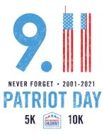 Patriot Day Virtual 5K/10K