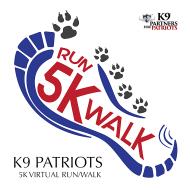 K9 Patriots 5K Run / Walk - Virtual