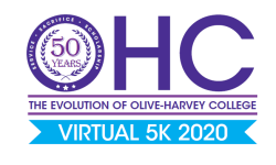 Olive-Harvey College    50th Anniversary - Virtual 5k