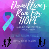 Damillion's Run For HOPE!