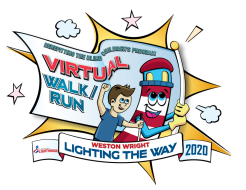 "12 Annual Weston Wright ""Lighting the Way"" Walk/Run 5K/10K"