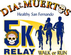 Dia de Los Muertos 5k Individual/Relay Walk or Run