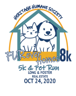 Heritage Humane Society FURever Homes Run