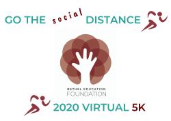 Go The Social Distance: BEF Virtual 5K