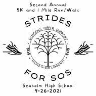 Strides for SOS 5K and 1 Mile Run/Walk