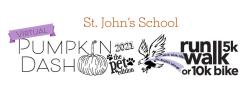 St. John's School PUMPKIN DASH Virtual Run/Walk 5k & 10k Bike Ride