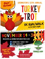 Shinnston Turkey Trot 5K Virtual Run
