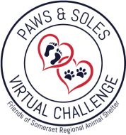 Paws & Soles Virtual Fall Challenge - For the benefit of Friends of Somerset Regional Animal Shelter