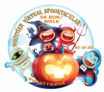 Whittier's Virtual Spooktacular 5K Run/Walk