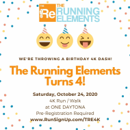 The Running Elements' Birthday 4k