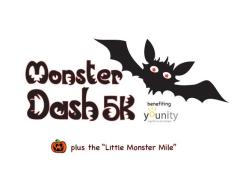 Monster Dash Virtual 5k Run/Walk and Little Monster Mile