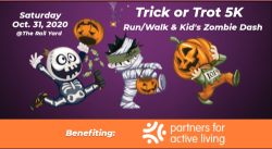 Trick or Trot 5K & Kid's Zombie Dash presented by: RunGSP