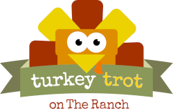 Turkey Trot on The Ranch Logo